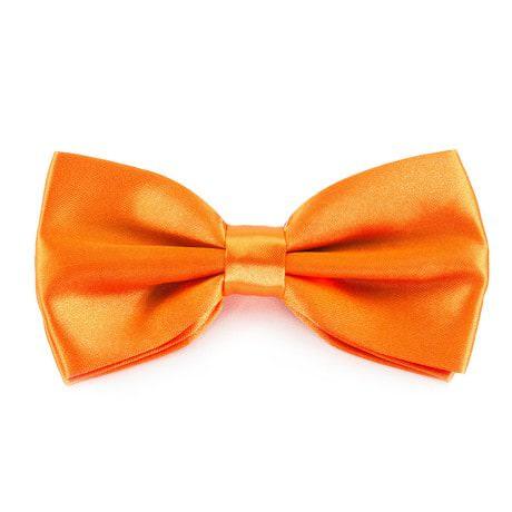Fliege Schleife Hochzeit Anzug Smoking - orange