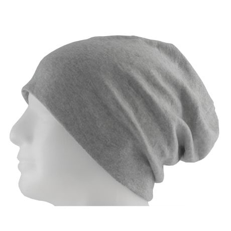 Long Beanie XXL Mütze Slouch Damen Herren Kinder Mütze - heather grey