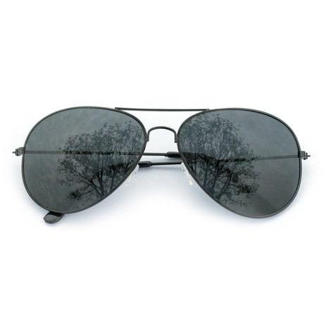 Pilotenbrille Sonnenbrille Herren Damen Flieger schwarz