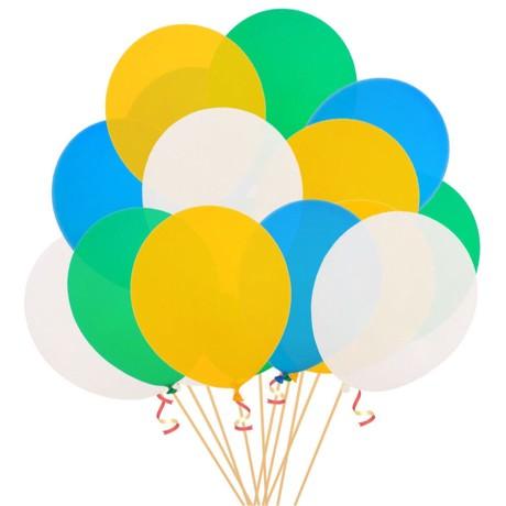 Luftballon Set 20Stk Geburtstag Feier Party Hochzeit JGA Ballons bunt