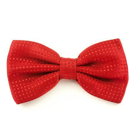 Fliege Schleife gepunktet Hochzeit Anzug Smoking - rot