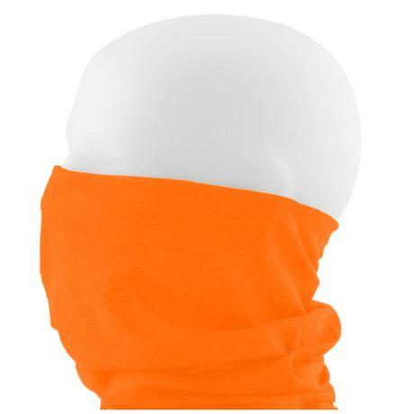 Multifunktionstuch Schlauchtuch Halstuch Motorrad - Neon Orange
