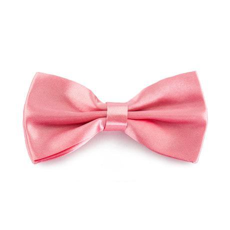 Kinder Fliege Schleife verstellbar Hochzeit Anzug Smoking - rosa
