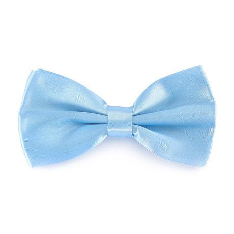 Kinder Fliege Schleife verstellbar Hochzeit Anzug Smoking - baby blau