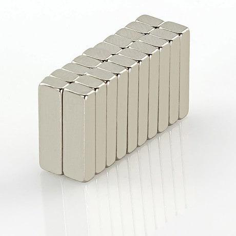 Neodym Magnet Extrem N50 14 x 4 x 2,5 mm