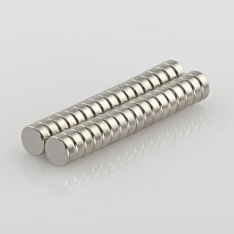 Neodym Magnet Extrem N52 ø 5 x 2 mm