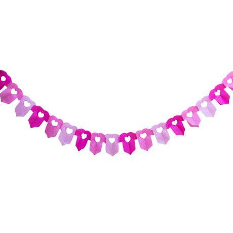 Girlande Baby Shower Schwangerschaft - Hemdchen pink