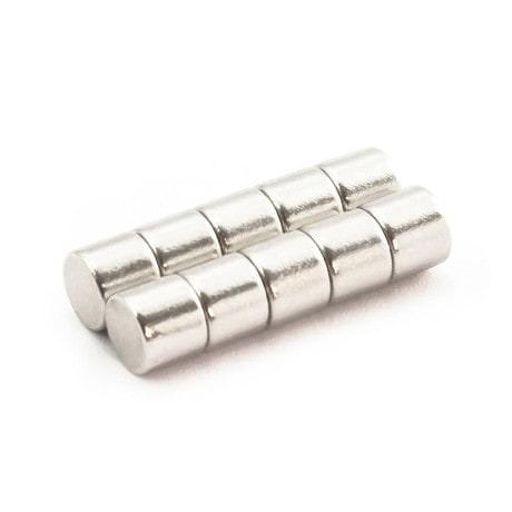 Neodym Magnet N38 ø 8 x 5 mm
