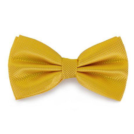 Fliege Schleife kariert Hochzeit Anzug Smoking - gelb
