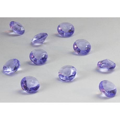 Deko Diamanten Dekosteine Tischdeko Dekoration 10mm - violett