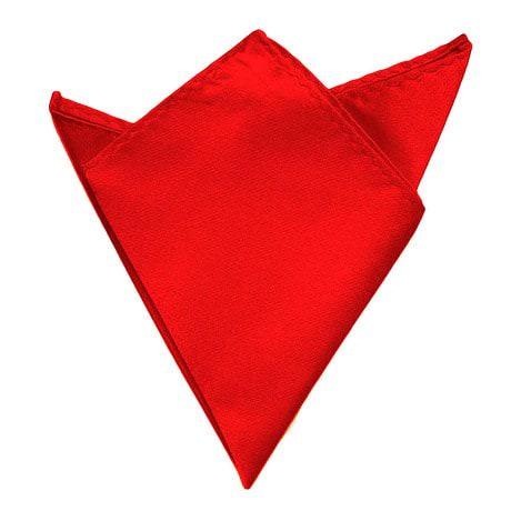 Einstecktuch Kavalierstuch Stecktuch Business Hochzeit - rot