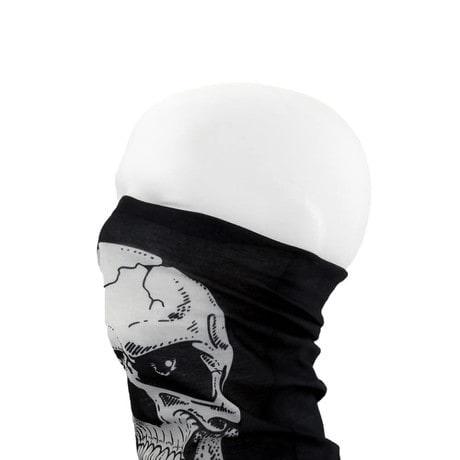 Multifunktionstuch Schlauchtuch Halstuch Motorrad - Centered Skull