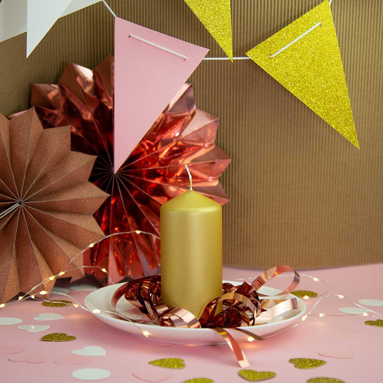 Papier Konfetti Herzen 36 Stk Tischdeko Hochzeit Jga Rosa Weiss Gold