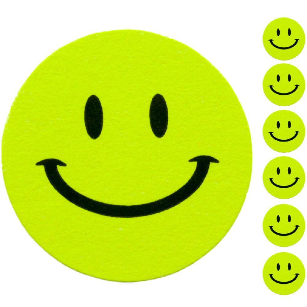 18 Smiley Sticker Aufkleber Lacheln Emoji Smily Smilie Face Grun