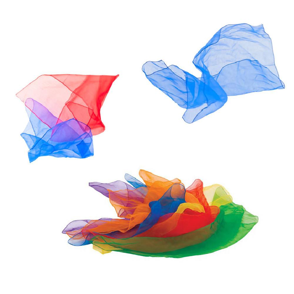 Oblique Unique® 12 Flug Propeller Flugspiel Bunt Farbmix