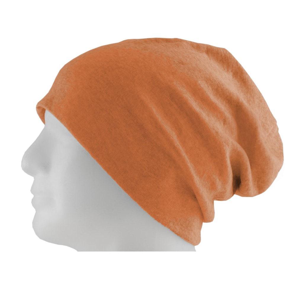 3da0ec2e6a5 Long Beanie XXL Mütze Slouch Damen Herren Kinder Mütze - orange