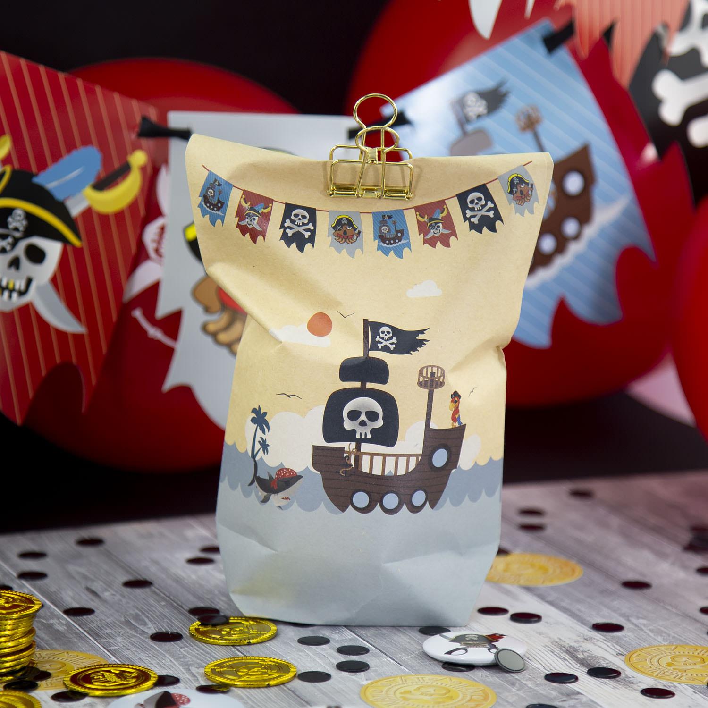 Piraten Girlande Banner für Jungs Kinderzimmer Deko Kinder Geburtstag  Piraten Party