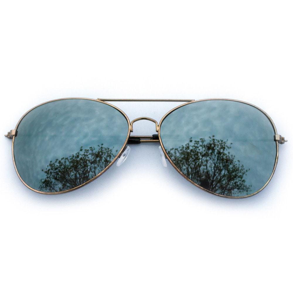 pilotenbrille sonnenbrille herren damen flieger smokey brown. Black Bedroom Furniture Sets. Home Design Ideas