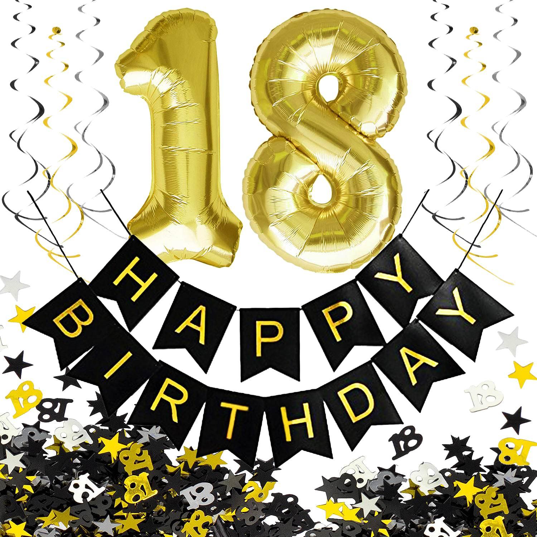 18 Geburtstag Deko