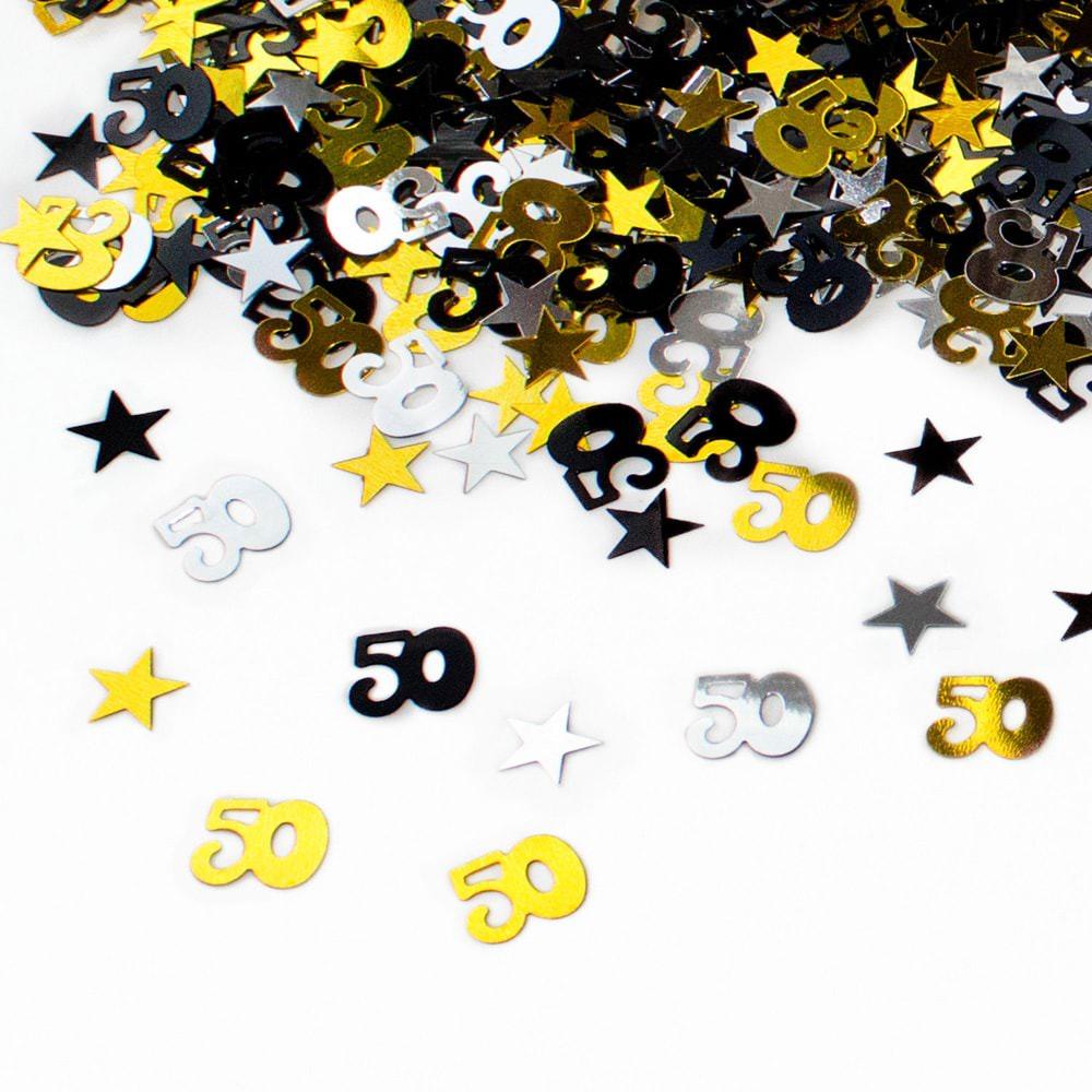 Konfetti 50 Geburtstag Jubilaum Streudeko Streuteile Deko 500 Stk