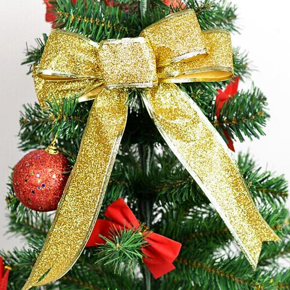 Geschenk Band Edler Glitzereffekt Geburtstag Weihnachten Gold