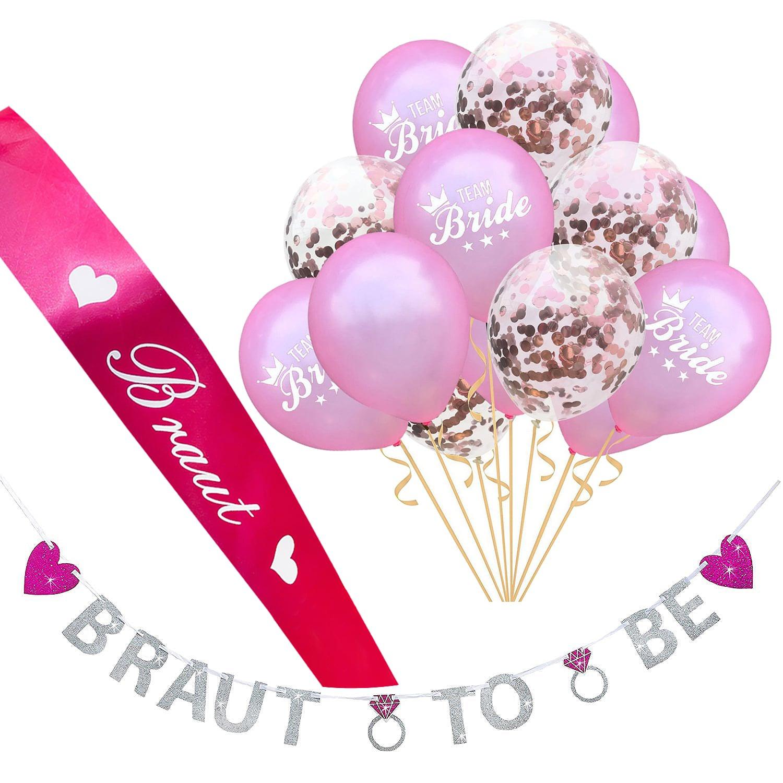 Brautschmuck Braut Accessoires Junggesellinnenabschied Brau Party Zubehör Bride To Be Party Kleidung & Accessoires