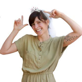 Braut Haarkamm Einsteckkamm mit Brautschleier Junggesellinnenabschied
