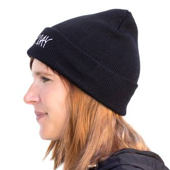 Beanie Mütze Slouch Damen Herren Winter Mützen - BAD HAIR DAY