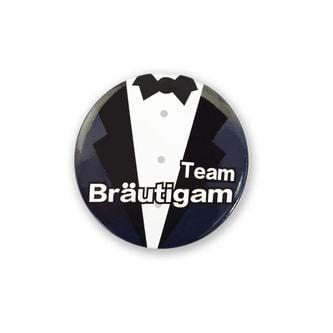 Button Set JGA Junggesellenabschied - 1x Bräutigam & 9x Team Bräutigam