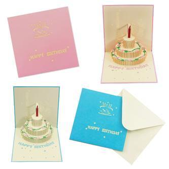 3D Geburtstagskarten