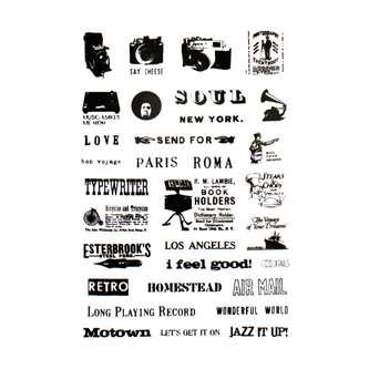 120 Retro Sticker Vintage Style Aufkleber Reisen Sehenswürdigkeiten