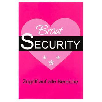 VIP Pass Ausweis Braut Security JGA Junggesellinnenabschied Hochzeit