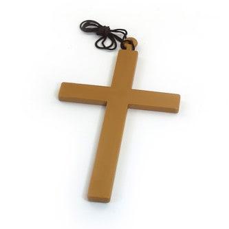 Kreuz mit Kordel Priester Bischof Nonne Kostüm Karneval Fasching