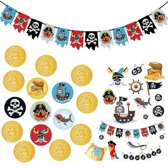 Piraten Party Deko Sets