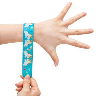 Einhorn Schnapparmbänder Armbänder Kindergeburtstag Mitgebsel - türkis