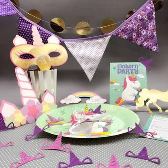 10 Fotorequisiten Fotoaccessoires Einhorn Party Kinder Geburtstag Photo Booth