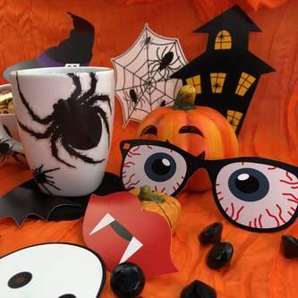22 Fotorequisiten Foto Props Fotoaccessoires Halloween Masken