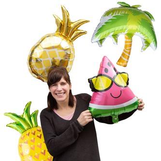 Folien Luftballon Ananas Ballon Sommer Garten Hawaii Motto Party Geburtstag Deko
