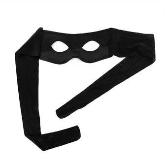 Banditen Augen Maske Party Karneval Fasching - schwarz