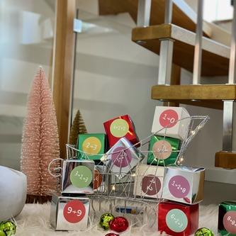 12 Weihnachtsglöckchen Tischdeko Weihnachtsbaum Weihnachtsdeko - grün