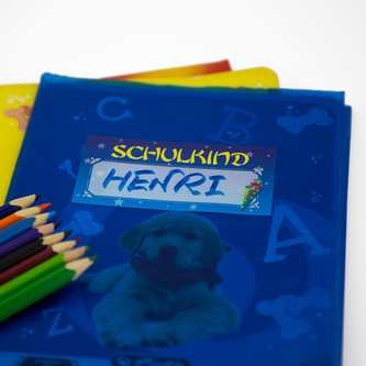 6 Namensaufkleber Namen Etiketten Sticker Kinder Kindergarten Schule