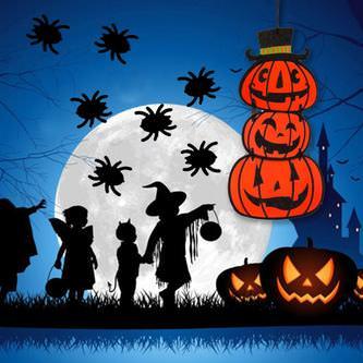 Konfetti Spinnen Halloween Streudeko Streuteile Deko 500 Stk - schwarz