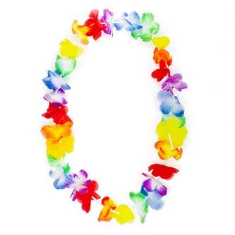 12x Hawaii Blumenkette Hawaiikette Halskette Sommer Party Strand Mottoparty