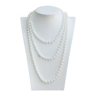 Perlenkette Charleston Kostüm 20er Jahre Fasching Party Karneval