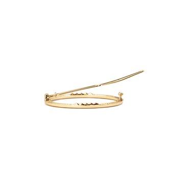 Metall Haarklammer Rund Damen Frauen Mädchen Haarspange - gold