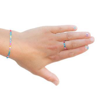 750 Acryl Strasssteine Glitzersteine Schmucksteine Diamanten bunt 3mm