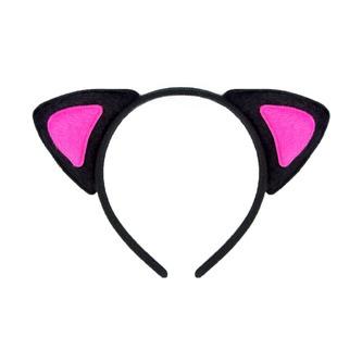Haarreif Haarreifen Katzenohren Fasching Karneval Party Kostüm