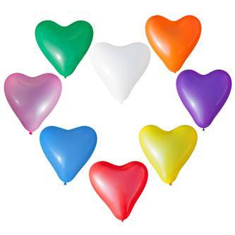 Herz Luftballons