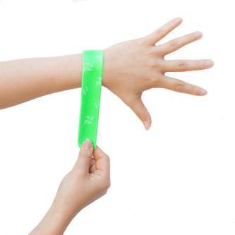 6 x Bunte Schnapparmbänder - Armbänder Kindergeburtstag Mitgebsel