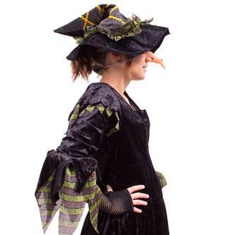 Hexennase Lang Hässlich für Halloween Fasching Karneval Hexe Kostüm
